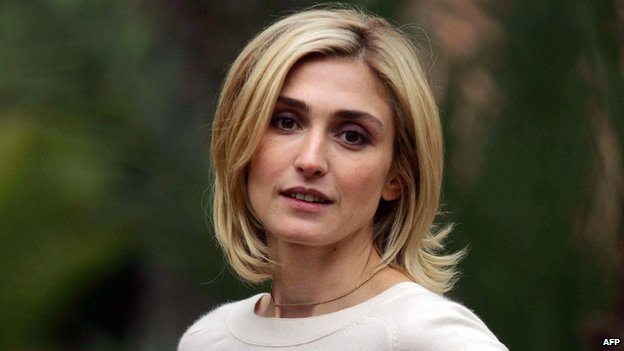 French actress Julie Gayet - file pic