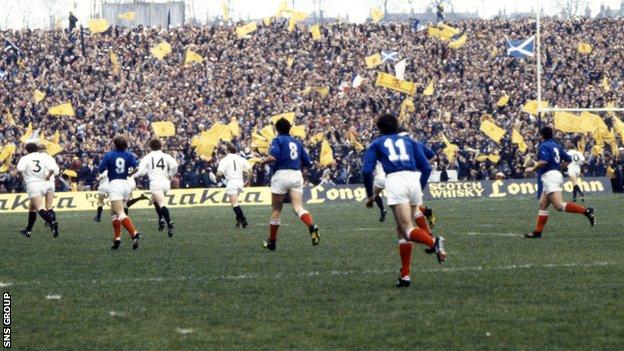 Scotland won the Grand Slam in 1984