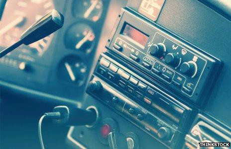 A bus radio