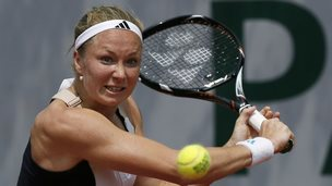 Julia Glushko in action