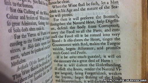 Picture of a translation of Roger Bacon's works: The cure of old age and preservation of use