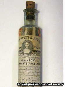 Atkinson's Infant Preservative - a remedy for teething
