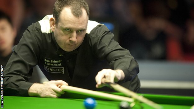 Two-time Masters winner Mark Williams