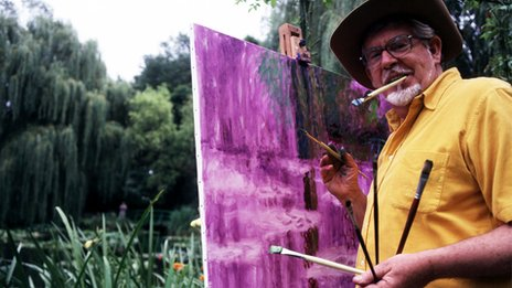 Rolf On Art in 2001