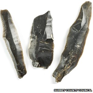 Ice Age flint tools