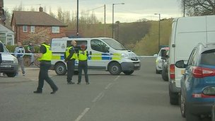 Scene of Sunderland bodies' find