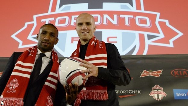 Jermain Defoe and Michael Bradley