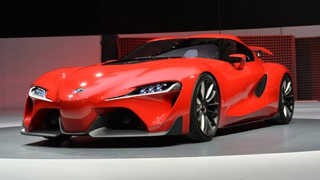 Toyota unveils concept sports car