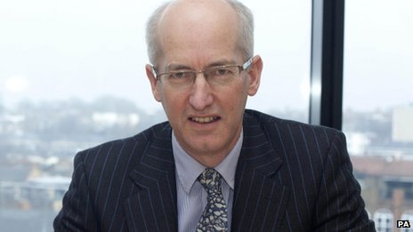 New boss of HS2 Sir David Higgins