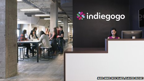 Indigogo's headquarters in San Francisco