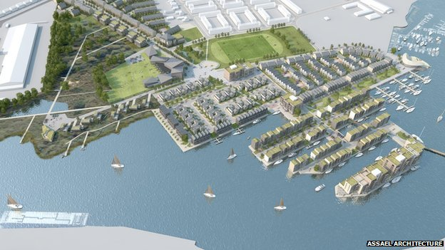 Lake Lothing development, Lowestoft
