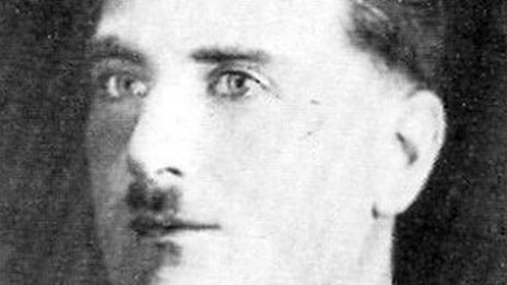 A police picture of Alfred Rouse