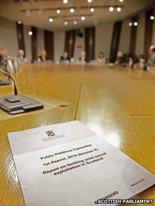 The committee publishes the report