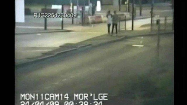 Girls on CCTV