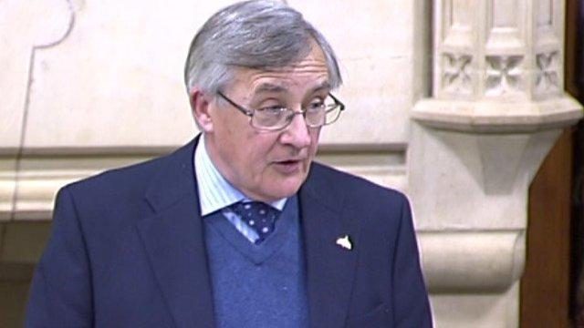 Conservative MP for Aldershot Gerald Howarth