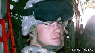 Allen Henson seen in an undated photo