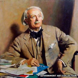 David Lloyd George (1863-1945), 1st Earl Lloyd-George of Dwyfor, Prime Minister by William Orpen