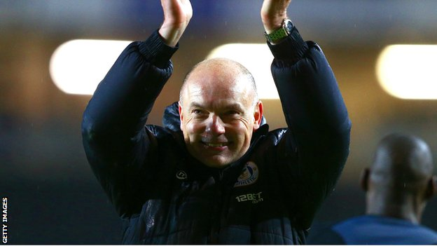Wigan boss Uwe Rosler