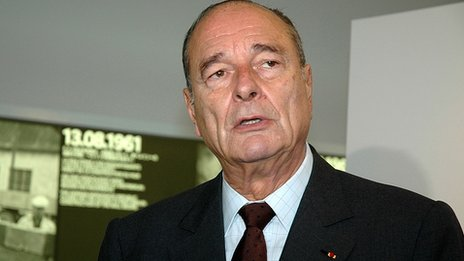 Jacques Chirac in 2005