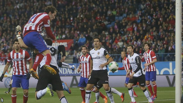 Atletico Madrid v Valencia