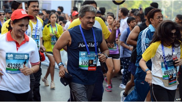 Mumbai marathon, 2013
