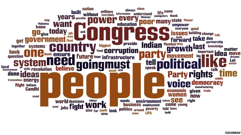 Rahul Gandhi's words