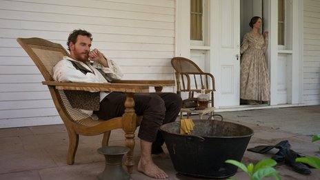 Michael Fassbender in 12 Years a Slave