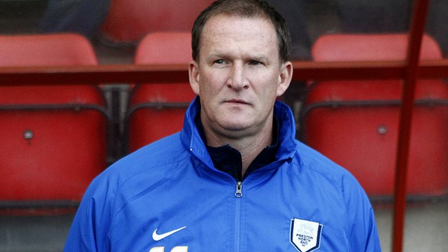 Preston manager Simon Grayson