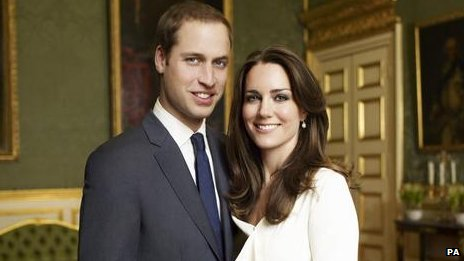 The Duke and Duchess of Cambridge's official engagement photo