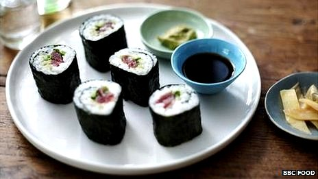 Quick and easy sushi maki