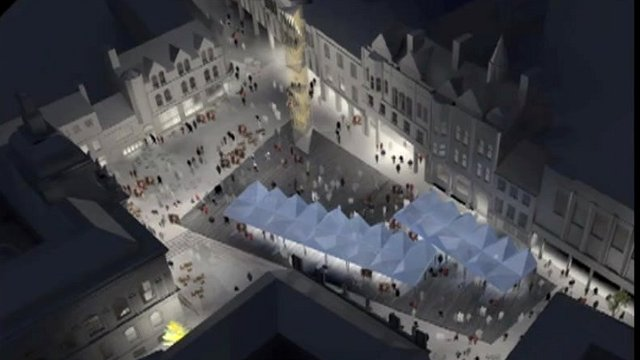 New design for Ipswich Cornhill