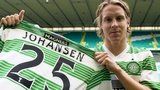 Stefan Johansen in Celtic colours