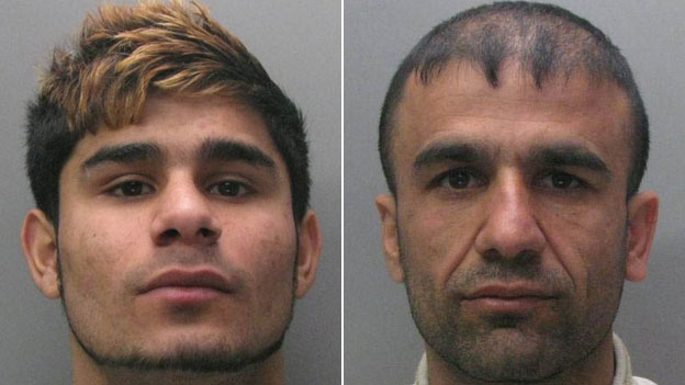 Zdeno Mirga, 18, (left), Hassan Abdulla, 33