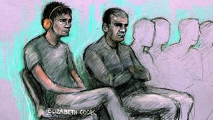 Zdeno Mirga, 18, (left), Hassan Abdulla, 32