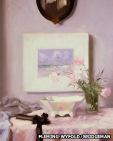 Francis Campbell Boileau Cadell, (1883-1937), Carnations, oil on canvas (Pic courtesy of Fleming Wyfold Foundation and Bridgeman Art Library)