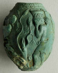 A roman vase found in Petham