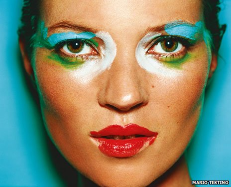 Kate Moss, London 2002