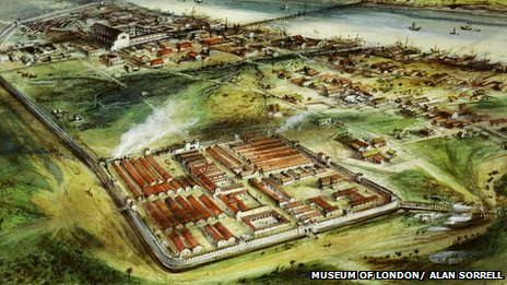 Londinium reconstruction
