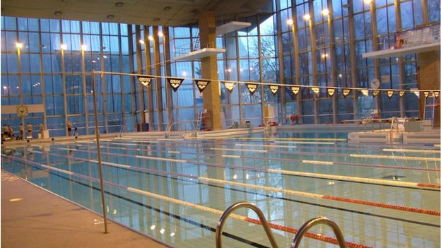 Proposal to close coventry 39 s 50m olympic pool approved bbc news University of birmingham swimming pool
