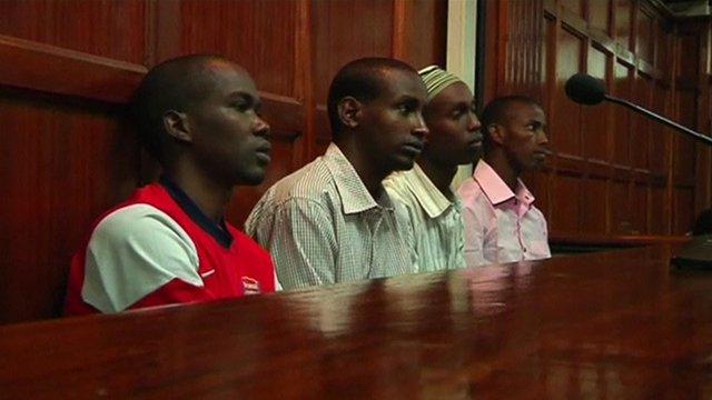 The four accused men