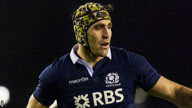 Scotland forward Kelly Brown