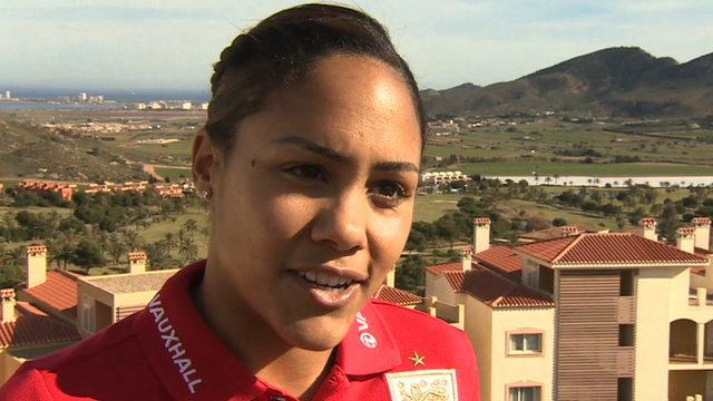 England defender Alex Scott
