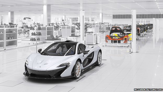 P1 production line