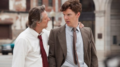 Chris Cooper and Benedict Cumberbatch in August: Osage County