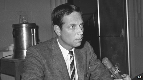 Richard Shepherd pictured in 1964