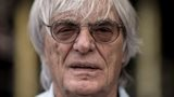 Bernie Ecclestone at the Formula 1 Singapore Grand Prix in September 2013