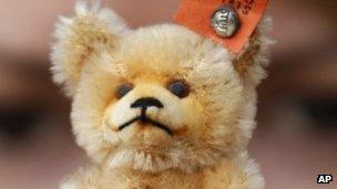 A Steiff bear