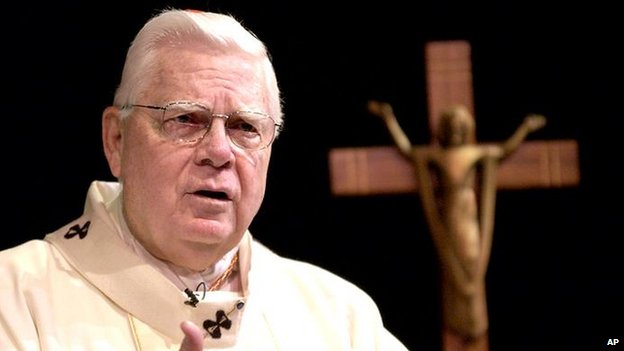 Cardinal Bernard Law - April 2002