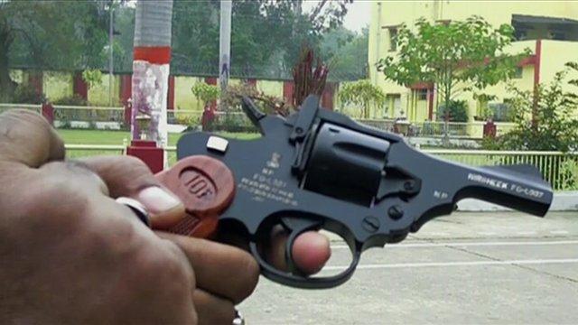 Nirbheek hand gun