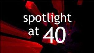 Spotlight at 40 logo